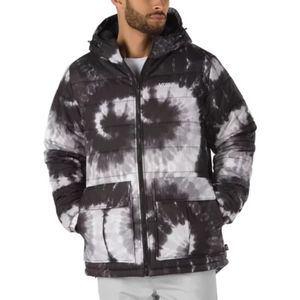 Vans Tie Dye Mens Hooded Coat Snowboard Jacket